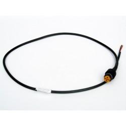 Priključni kabel 5-polni levi, dolžine 1m, Aspock (rumeni)